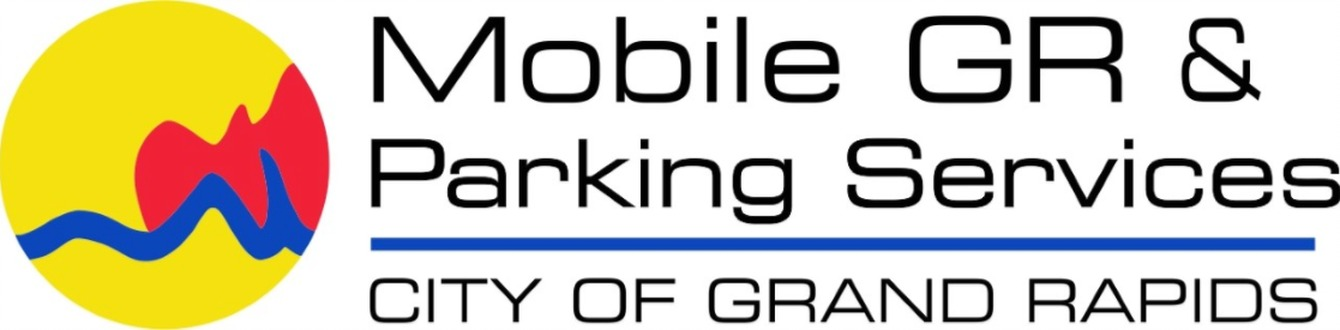 Mobile GR & Parking Services logo - City of Grand Rapids
